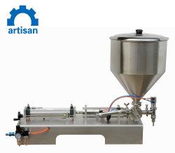 Botella de aceite de coco semiautomática Máquina de Llenado manual de la máquina de llenado de aceite