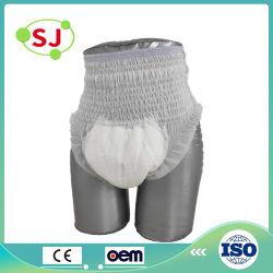 الصين صاحب مصنع [إينكنتيننس] مستهلكة لهاث نوع بالغ حفّاظة عملّيّة سحب [بنتي] حفّاظة