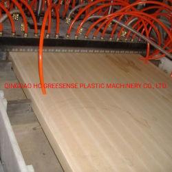 I portelli del PVC di WPC che preparano la macchina/plastica riciclano l'espulsore composito di plastica di legno
