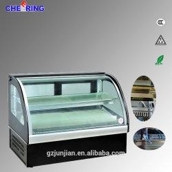 precio de fábrica Desktop Mini Torta o Sushi Vitrina refrigerador