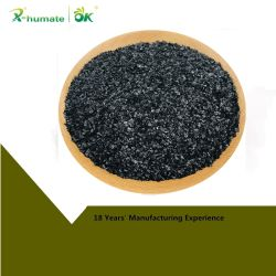 X-Humateの極度のカリウムのHumateの光沢がある薄片100%の水溶性の有機肥料