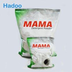 Blanco de espuma alta detergente en polvo lavar la ropa de colores blanco azul verde en polvo para lavar a mano y lavar a máquina automática