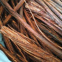 Chatarra de cobre del cable conductor de la línea de rastreo de metal