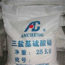 مثبت حرارة PVC هو كبريتات الرصاص الأساسية لمادة PVC غير الشفافة البلاستيك
