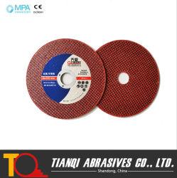 عجلات قطع حمراء لمعدن Inox من الفولاذ المقاوم للصدأ مع جيد السعر