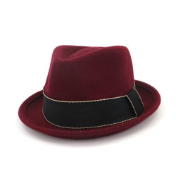 Для покрытия путевых расходов Crushable моды парикмахерский салон 100% шерсть Австралия считает Red Hat Fedora