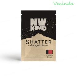D'Aluminium Sac Pochette Sachet de thé à fermeture à glissière en aluminium Produits d'emballage de sacs en plastique de qualité alimentaire