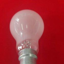 Superficie mate bombilla incandescente lámpara incandescente
