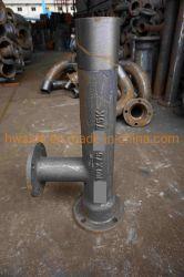 raccord de tuyauterie fonte ductile Té de réduction de moulage