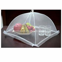 Paraguas alimentos Nylon blanco cubierta cubierta alimentos Net para barbacoa al aire libre Camping partes