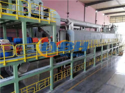 30t~50t totalmente Continuous Resíduos plásticos Pneu Destilação Combustível Refinação do petróleo sistema Fábrica de pirólise