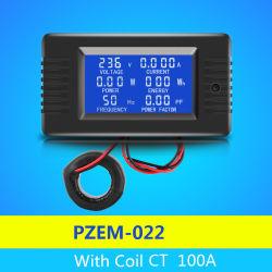 2018 새로운 Pzem-022 6in1 볼트 AMP 와트 에너지 주파수 전기 에너지 에너지 미터 & 힘 미터