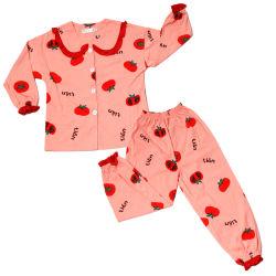 Il nuovo cotone di inverno di stagioni di freddo della neonata degli indumenti da notte dei capretti dei pigiami dei capretti del cotone di inverno di arrivi imposta i pigiami della famiglia dei pigiami di Homewear delle ragazze dei ragazzi