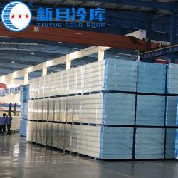 100mmアルミニウムサンドイッチパネルのExtririorの壁の音響の外部の屋根およびPUの装飾的な構築の冷蔵室のパネルで歩く鋼鉄泡アルミニウムOSB SIP