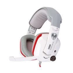 SOMIC G909 Gamer Headset Virtual 7,1 Stereo Gaming-Kopfhörer mit Kabel Vibration Kopfhörer Kopfhörer mit Mikrofon für PC-Computer
