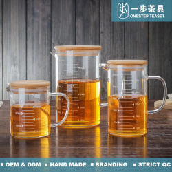 HEAT Resistant Pyrex Glass Measuring Cup for Muntifunction
