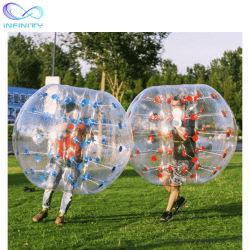 مصنع مباشر إمداد تموين قابل للنفخ إنسانيّة كرة قدم فقاعات قابل للنفخ كرة قدم فقاعات قابل للنفخ جسم مصعد كرة لأنّ بالغ