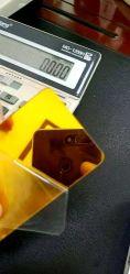 ورقة مرآة أكريليك روز الذهبية من البلاستيك الشفاف الدائري مرآة بولي ميتاكريليت الميثيل القطر مقطوع إلى الحجم