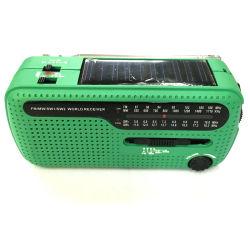 Radio à manivelle Solaire de vente à chaud