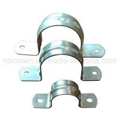 固定クランプのための卸売によって電流を通される鋼管クリップ