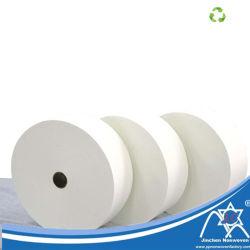 Hydrophile dickflüssige nichtgewebte Fabrichydrophilic nicht gesponnene Tuch-Rolle für hygienische Produkte