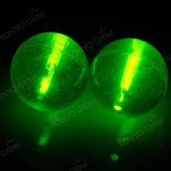 La bola rebote patentado Embedded Glow Stick