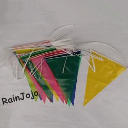 Bandiere personalizzate di stringa di Bunting (decorazione di parte) , mungings volanti colorati