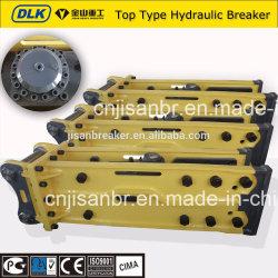 Earthmoving resistente Machinery Hydraulic Breaker Hammer per 100tons