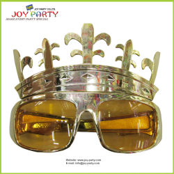GoldGeburtstagsfeier-Plastik Glassess