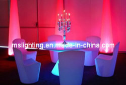 LED ضوء-إمضاء كرسي / طاولة LED