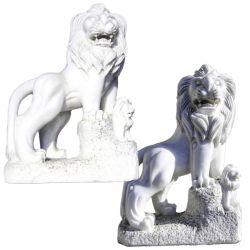 Hot de vendre la sculpture en marbre de plein air Animal Lion