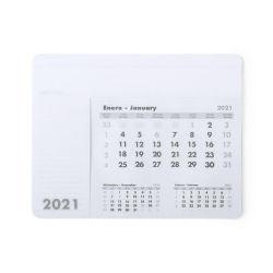 Stampa personalizzata Pubblicità in PVC PP Writing Support Desk 2021 intercambiabile Tastiera per mouse Office Calendario