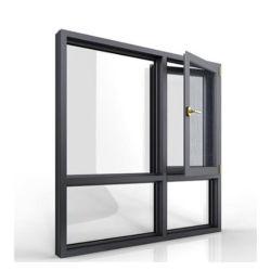 Mosquito Net을 사용한 알루미늄 프로파일 창, 맞춤형 디자인 창
