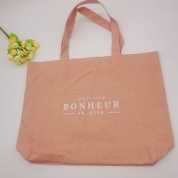 حقيبة هدايا قطنية ترويجية للتسوق مع أسعار أرخص