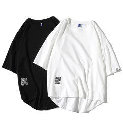 Il O-Collo della maglietta del cotone di Hip-Hop della maglietta degli uomini 2021 modo causale maschio surdimensionato delle magliette 5XL di stile giapponese di estate slaccia i T
