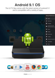Best 4K Smart Android Market 9.1 Ott Caixa de TV