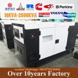 25kVA 500kVA 1000kVA 3 fases del motor generador eléctrico con la norma ISO/Ce