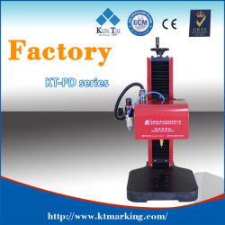 Metals를 위한 Benchtop Pneumatic DOT Pin Marking Engraving Machine