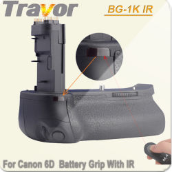 Travor Battery Grip BG-1k IR pour appareil photo Canon 6D