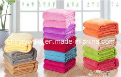 Mode de teinture de couvertures en laine polaire de corail coloré