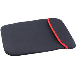 Commerce de gros de haute qualité 2 Face Chiffon doux netbook portable sacs pour ordinateur portable Tablet PC Accessoreis manches