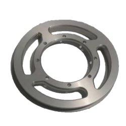 CNC, der CNC geprägte Aluminiumteile des Block-Kastens maschinell bearbeitet