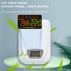 Une protection complète de PC-TLR10000va stabilisateur de tension pour climatisation