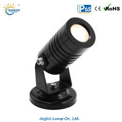 1W/2 W/3W IP65 Paisagem LED LED de luz da árvore de LED de luz LED de luz da ribalta jardim relvado com Base para iluminação de arquitetura