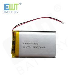 3,7 в 3500 Мач Lipo 884368 полимер Li аккумулятор для сотового телефона