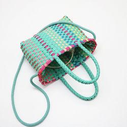 Женщин пластиковый мешок соломы спицы дамской сумочке Бич женская сумка с других Bag летом Esg16455