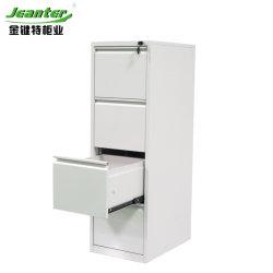 Cajón Cajón metálico de muebles de oficina en el pecho de color opcional