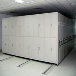 6 Manuel d'acier de la couche de stockage Rayonnages mobiles, le métal Smart mobile, Mobile RACK Rack de fichier