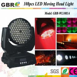 108pcs déplacer la tête de lumière à LED