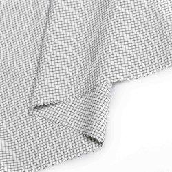 85% nylon+15% polyester, zwart-garen, nylon, 4-weg spandex, voor broek, dunne laag